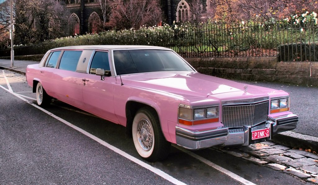 Pink Cadillac Limo Hire ⋆ Limo Directory